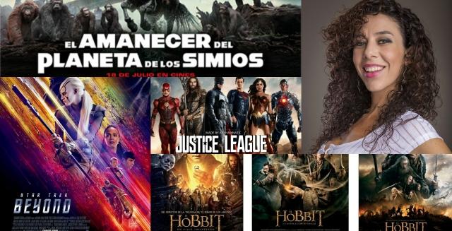 """Cine: Carolina Jiménez García, """"La mujer que la rompe en los efectos visuales de Hollywood""""."""